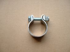 70-7512  Exhaust pipe clamp assy. 1 3/8 inch diameter, Triumph